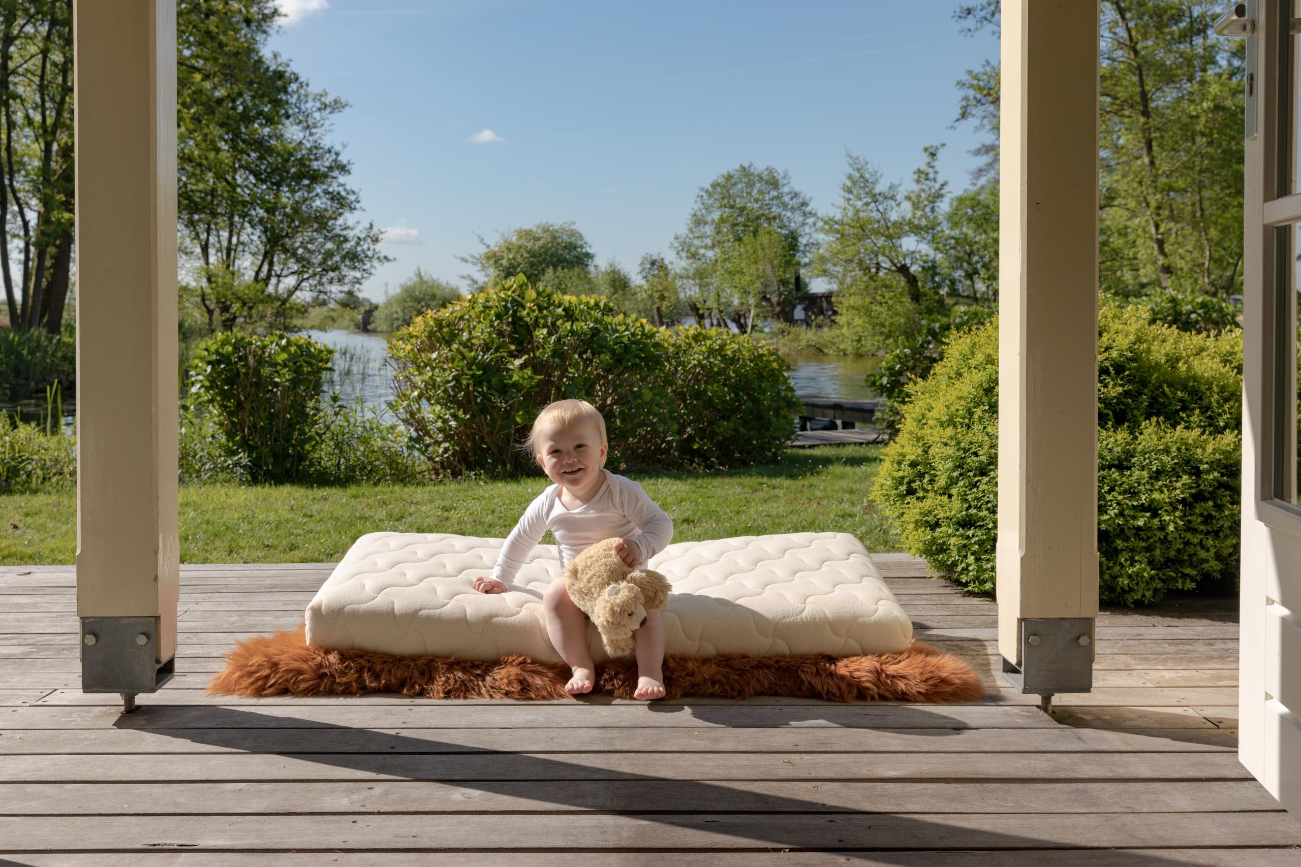 Coati babymatrassen en kindermatrassen van natuurlijke materialen